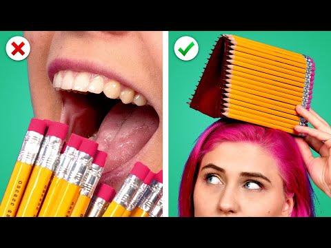 9 Brilliant School Supply Ideas! School Hacks, Crafts, And More