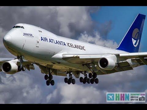 B747 Air Atlanta Icelandic From Nairobi Kenya @ DONCASTER AIRPORT UK
