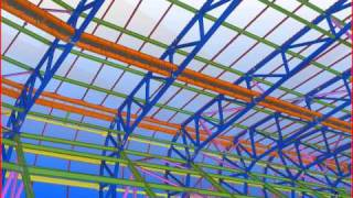 Tekla 2010 BIM Awards: Red Bull Stadium