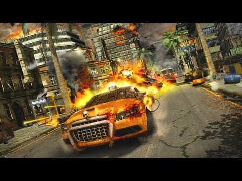 best video game review website - Hot Wheels World's Best Driver Game Review Manga Art Style