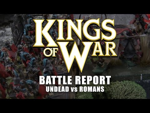 Kings of War Battle Report: Undead vs Romans!