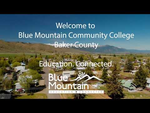 Blue Mountain Community College Virtual Campus Tour - Baker County