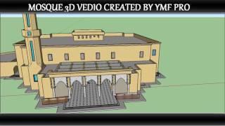 Video google sketchup videos, 3D MOSQUE created in sketchUp,  architecture design, download MP3, 3GP, MP4, WEBM, AVI, FLV Desember 2017