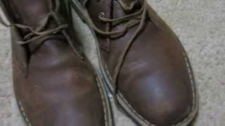 Clarks Desert Boots Beeswax Shoe Review - 1 Year later