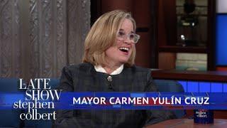 Mayor Carmen Yulín Cruz: Trump's Tax Bill Will Hurt Puerto Rico