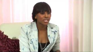 Alexandra Burke talks about Cheryl and Will.i.am