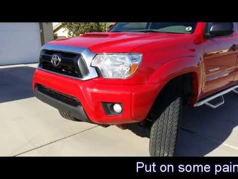Toyota Tacoma nose conversion, 2006 to 2014