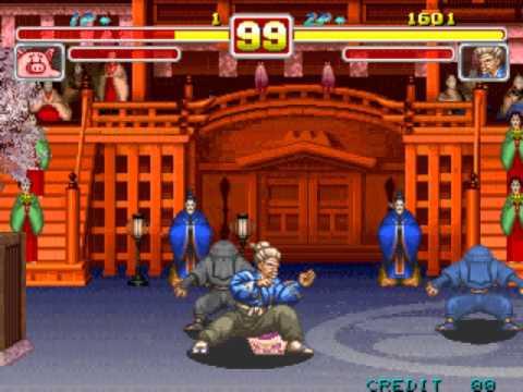 Power Instinct 2 [Arcade] - play as the Pig & S.Otane as ...