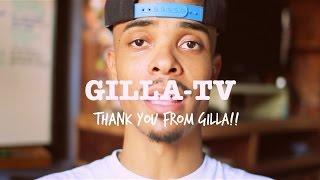 Over 50,000 views! Gilla says THANKYOU!!!