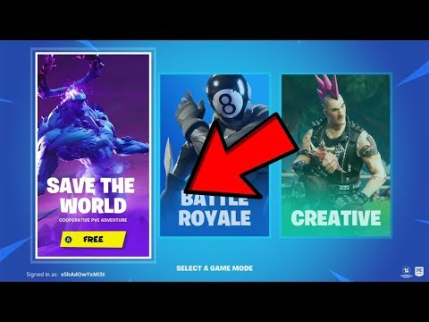 How To Get Fortnite Save The World Free! *v11.20*