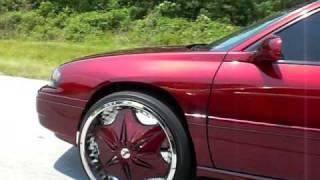 "Kandy 05 Impala on 24"" DUB Voodoo Sploaters"