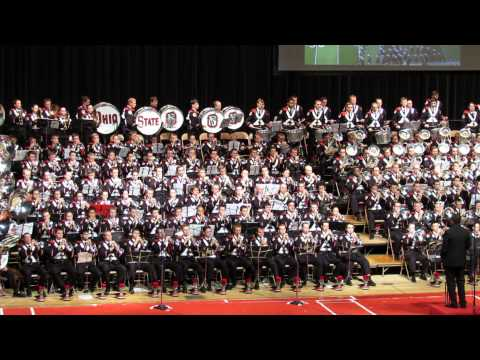 Ohio State Marching Band 2013 Concert Michael Jackson BAD Halftime Show Music 11 10 2013