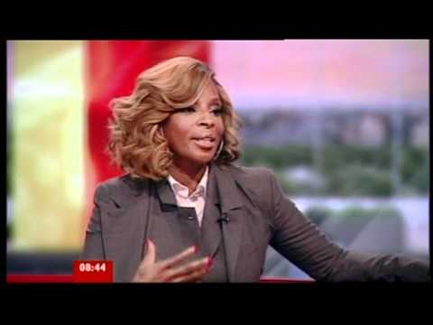 Mary J. Blige interview - BBC's Breakfast (2011)