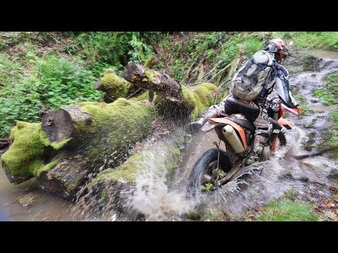 Hard Enduro Techniques In The World || Private Collection