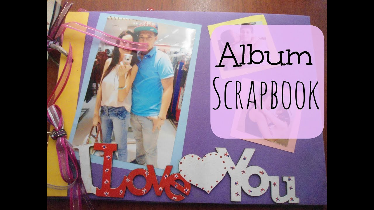 Assez Album Scrapbook - regalo de aniversario - YouTube EW19