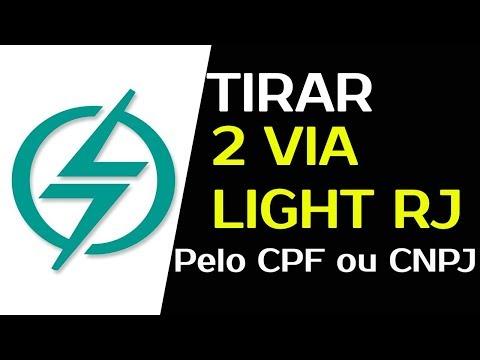 LIGHT 2 VIA DE CONTA RJ | Como Emitir Rápido a 2 via da Fatura Light