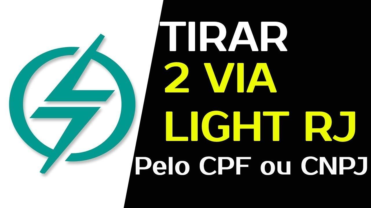 Light 2 Via De Conta Rj Como Emitir Rapido A 2 Via Da Fatura