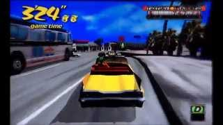 Crazy Taxi On SEGA Dreamcast Collection On XBOX 360