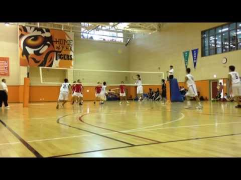 High School Boys Volleyball - AISA - Day 2 - Game 2 - YIS vs SOIS