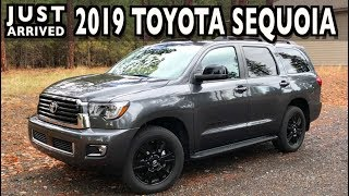 Just Arrived: 2019 Toyota Sequoia on Everyman Driver