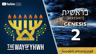 Genesis 2 (Bereshit) [בראשית] {Adam and Eve in the Garden} [1º]