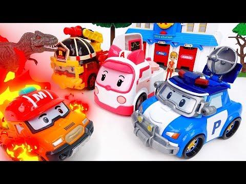 Brooms Town Is On Fire~! Gear Up Robocar Poli - ToyMart TV