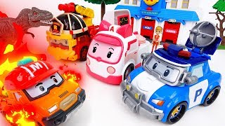 Brooms Town Is On Fire~! Gear Up Robocar Poli - ToyMart TV