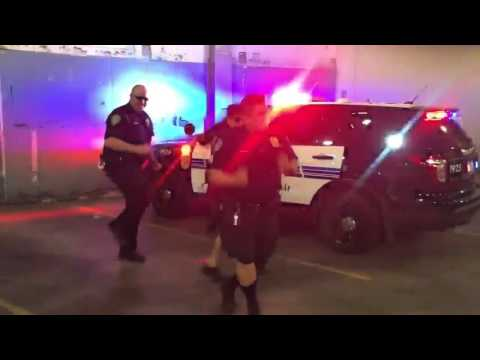 Minneapolis Metro Transit Police Running Man Challenge #Community Engagement