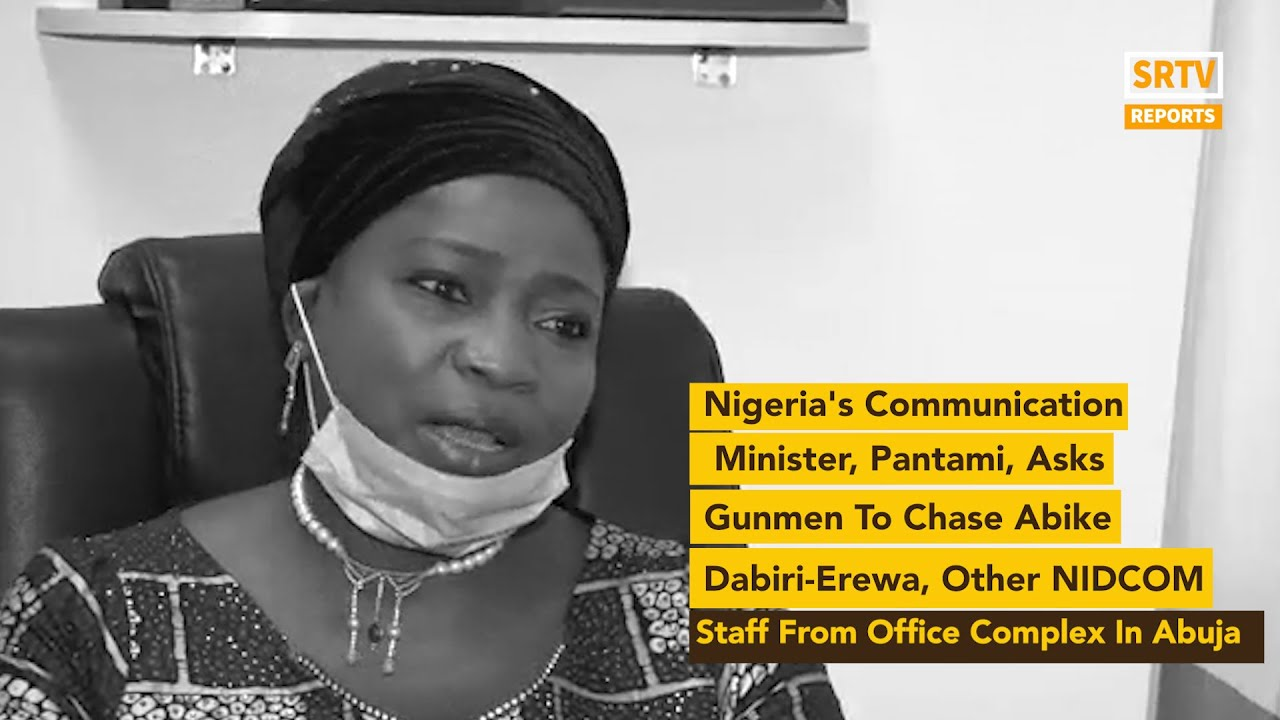 Download Nigeria's Communication Minister, Pantami, Asks Gunmen To Chase Abike Dabiri-Erewa From Office