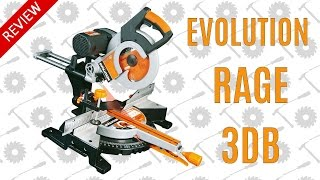 Review - Evolution Rage 3db Double Bevel Sliding Mitre Saw