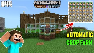 I MADE AUTOMATIC CROP FARM IN MINECRAFT PE | Part 44 | LordN Gaming