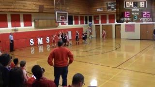 SMS 7th Grade Boys Basketball vs St John Evangelist