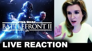 Star Wars Battlefront 2 Trailer REACTION