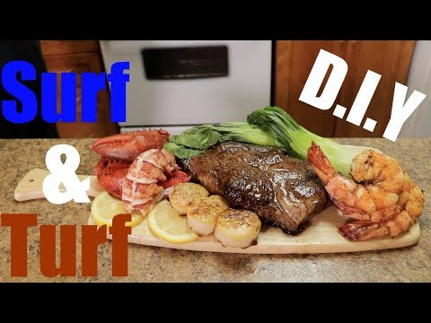 Shooter's Kitchen - Surf and Turf (DIY at home)