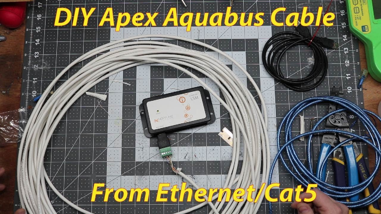 DIY Neptune Apex Aquabus cables from ethernet, Cat5, or Cat6 cables on phoenix wiring diagram, neptune apex serial number, octopus wiring diagram, fan wiring diagram, neptune apex power supply,