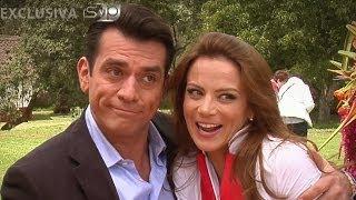 Jorge Salinas le dio el visto bueno a Silvia Navarro como bailarina exótica