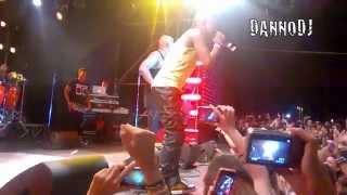 Gente De Zona Ft. Pitbull - Yo Te Quiero ( Live In Roma Fiesta 2014)