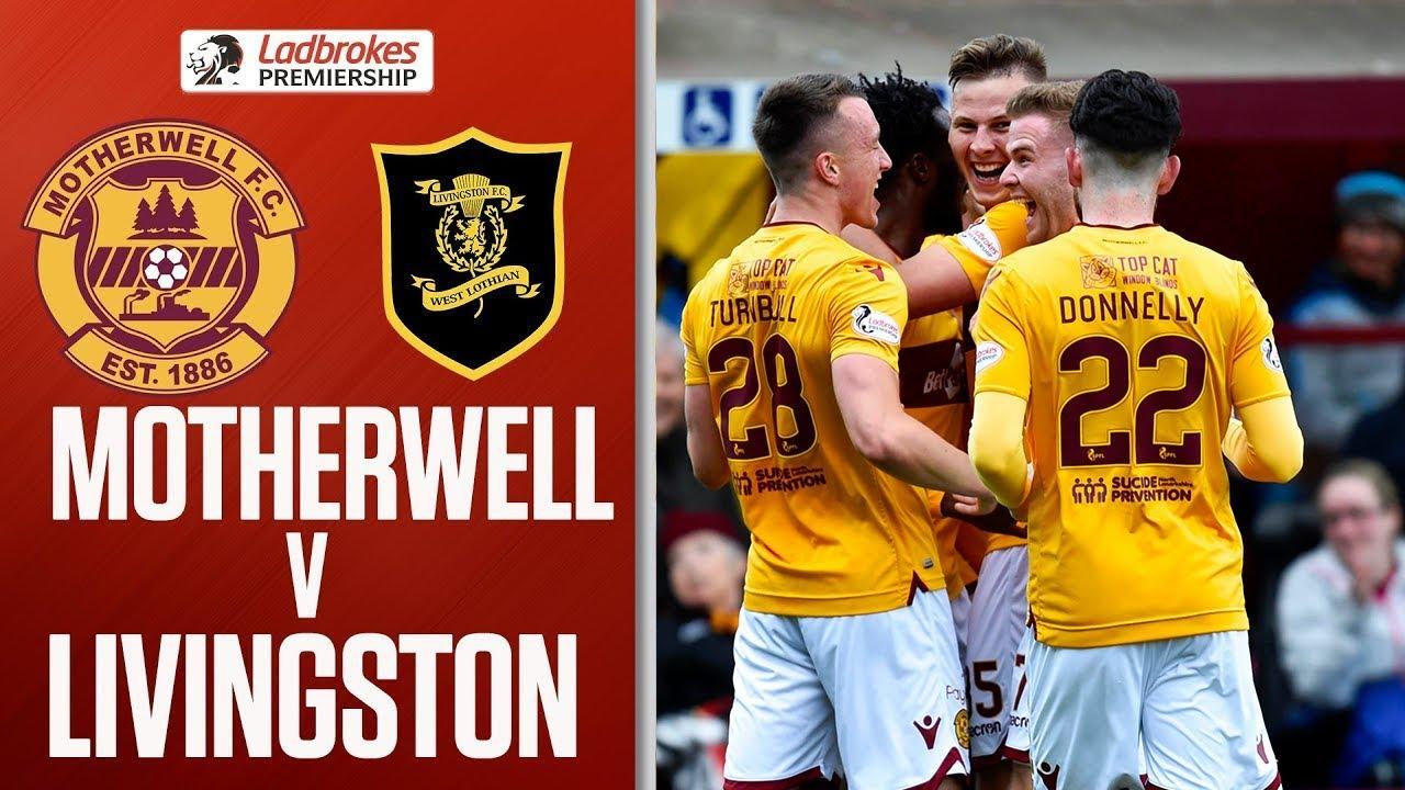 335539edde Motherwell 3-2 Livingston | Turnbull Double Proves Decisive! | Ladbrokes  Premiership