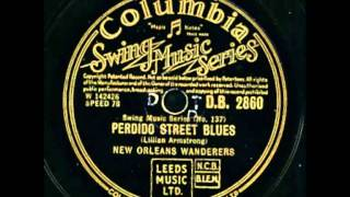 New Orleans Wanderers - Perdido Street Blues
