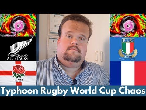 Rugby World Cup Chaos with Typhoon Hagibis