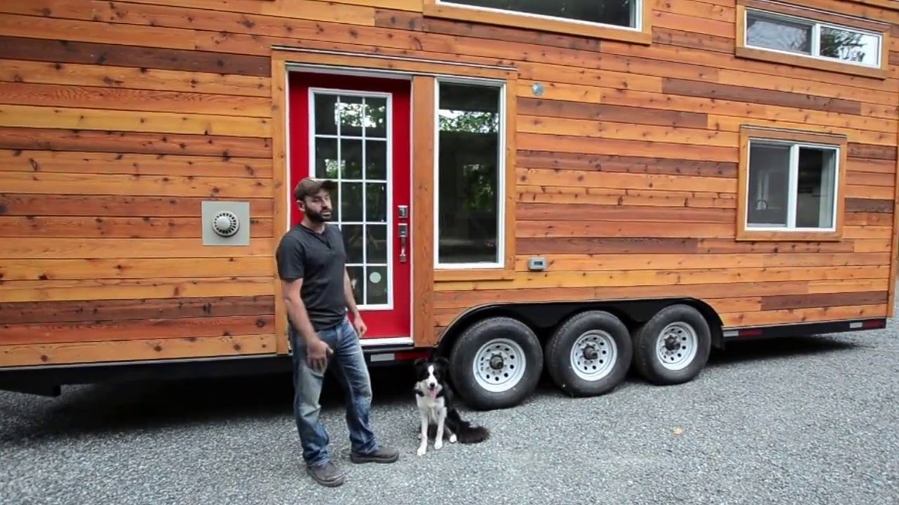 custom tiny house trailer. Custom 28\u0027 Tiny House By Rewild Homes: The \ Trailer