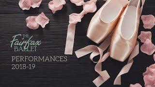 Fairfax Ballet Performances from 2018-19