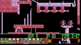 Lemmings Custom - The Chainheart Machine
