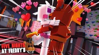 Minecraft: FIVE NIGHTS AT FREDDY'S #136 - BEBÊS ANIMATRONICS SE BEIJARAM!!