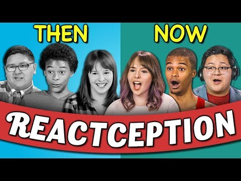COLLEGE KIDS REACT TO THEMSELVES ON TEENS REACT #6