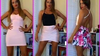 TRY ON HAUL: Lingerie, Dresses, Makeup!