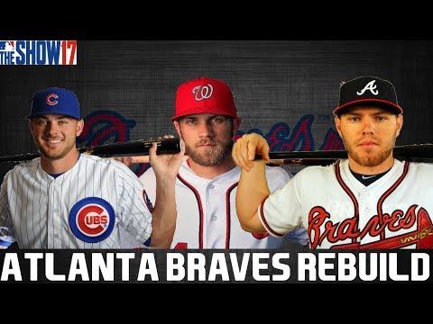 MLB 17 THE SHOW REBUILDING THE ATLANTA BRAVES!!! 30 TO 1 REBUILD #22