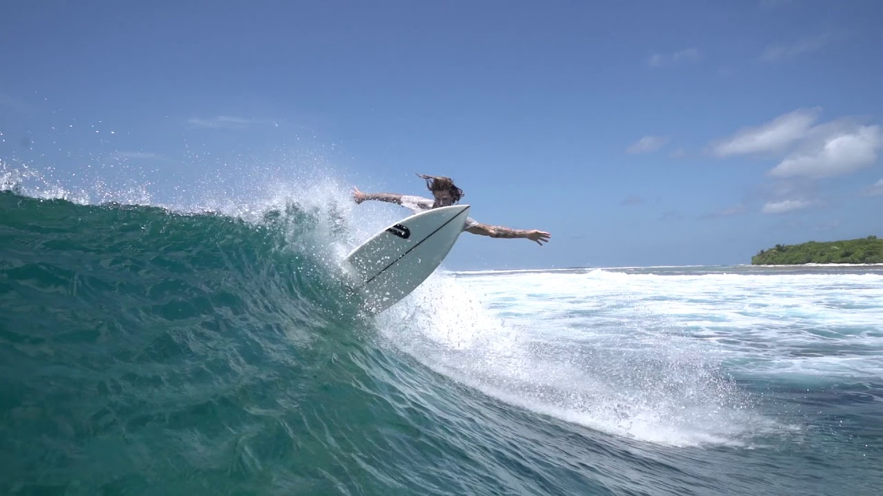 Surfing at Ayada Maldives