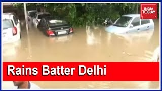 Few Hours Of Heavy Rains Submerge Many Parts Of Delhi, NCR