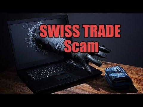 SWISS TRADE Scam часть 1.